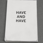 Have and Have
